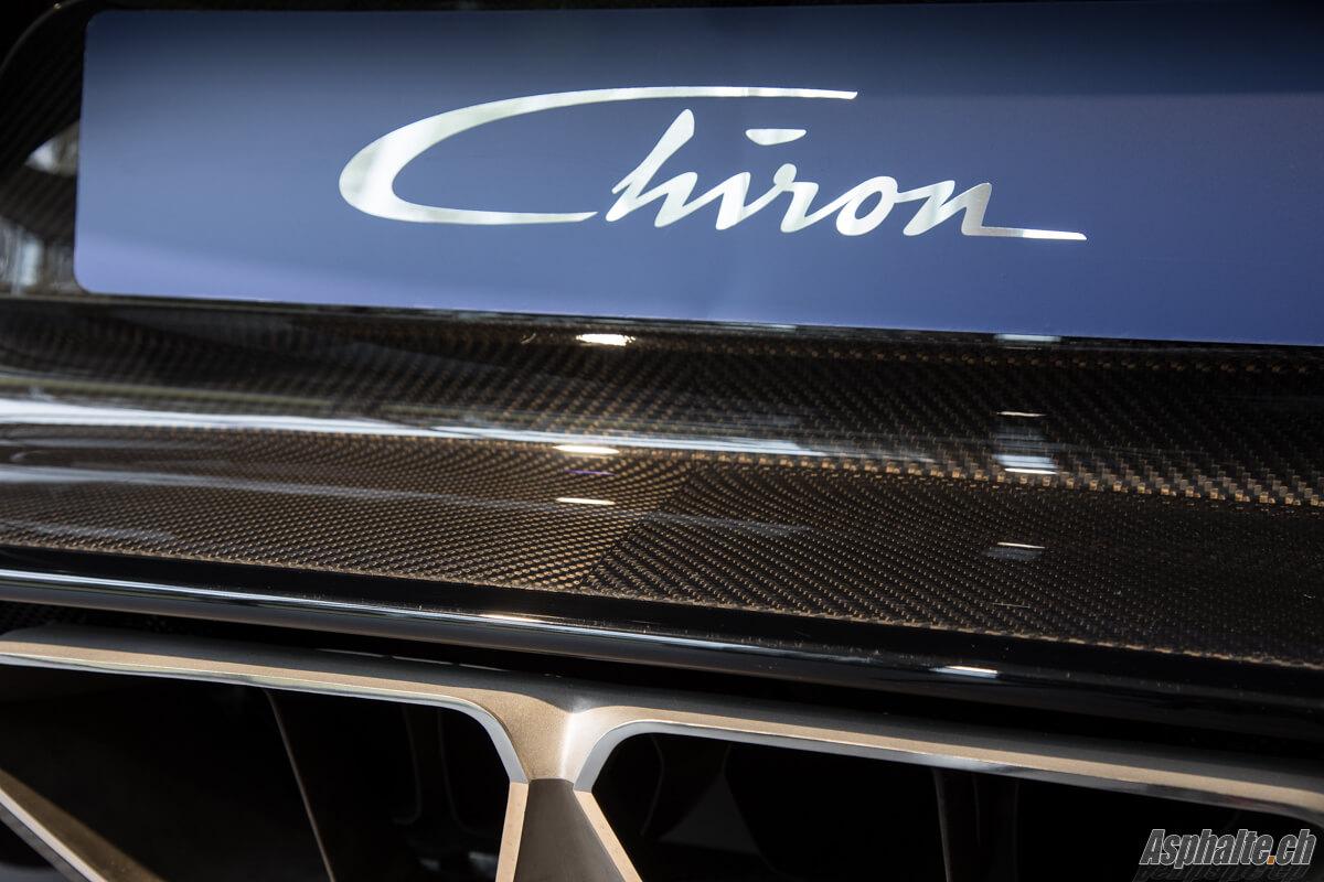 Bugatti Chiron Echappement