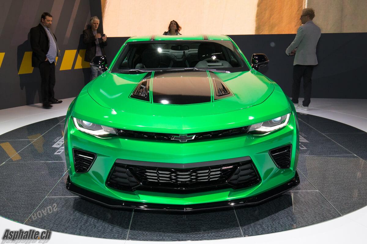 Chevrolet Camaro Track Concept Genève 2017