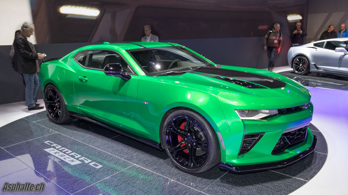 Chevrolet Camara Track Concept 2017 Salon Genève