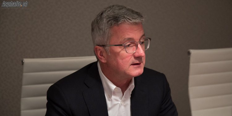 Interview Rupert Stadler Audi CEO Geneve 2017