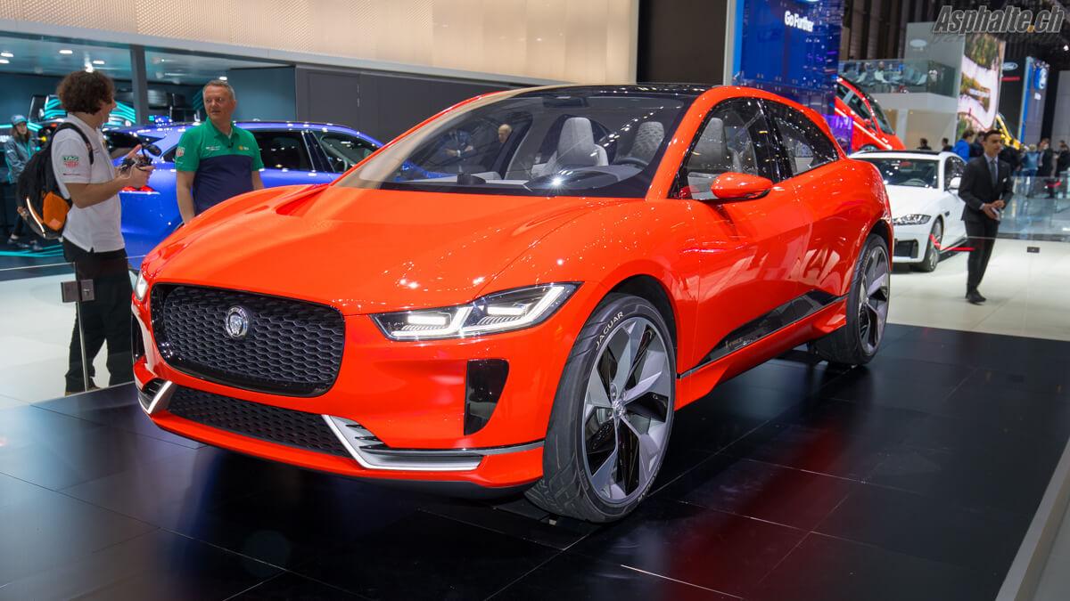 Jaguar i-Pace Concept Genève 2017