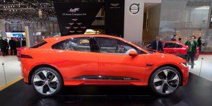 Jaguar i-Pace Photon Red Genève 2017
