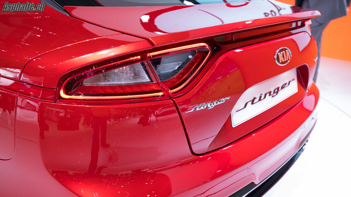 Kia Stinger GT Genève 2017