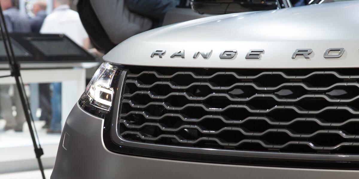 Range Rover Velar calandre