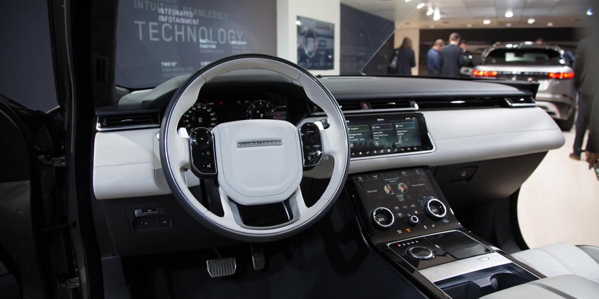 Genève 2017: Range Rover Velar - Asphalte.ch