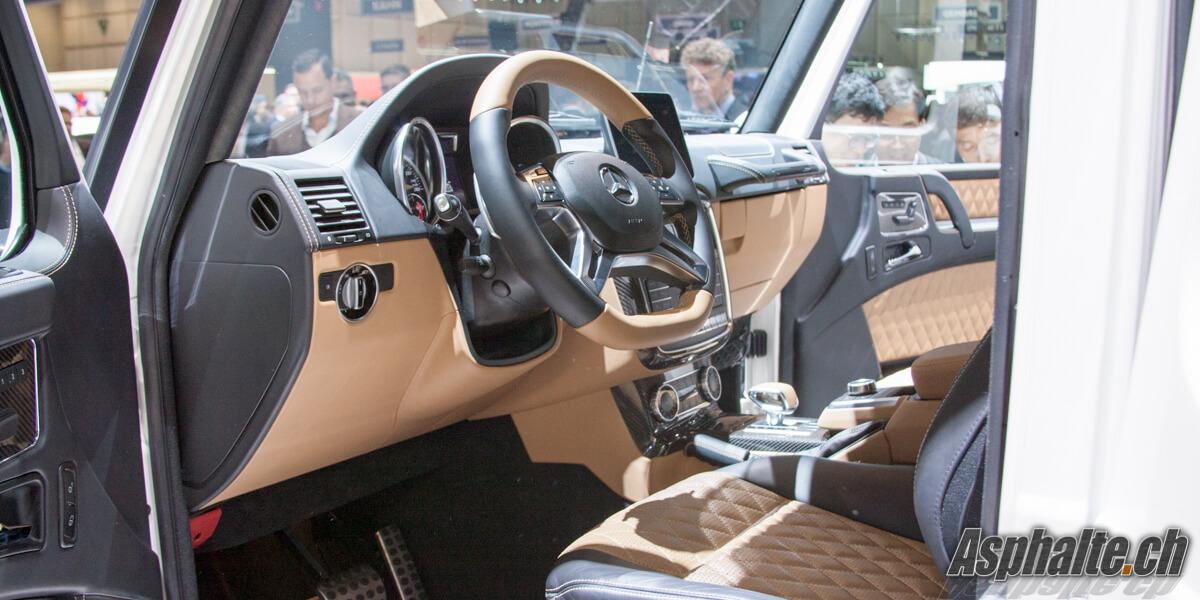 Mercedes Maybach G650 Landaulet Genève 2017 intérieur