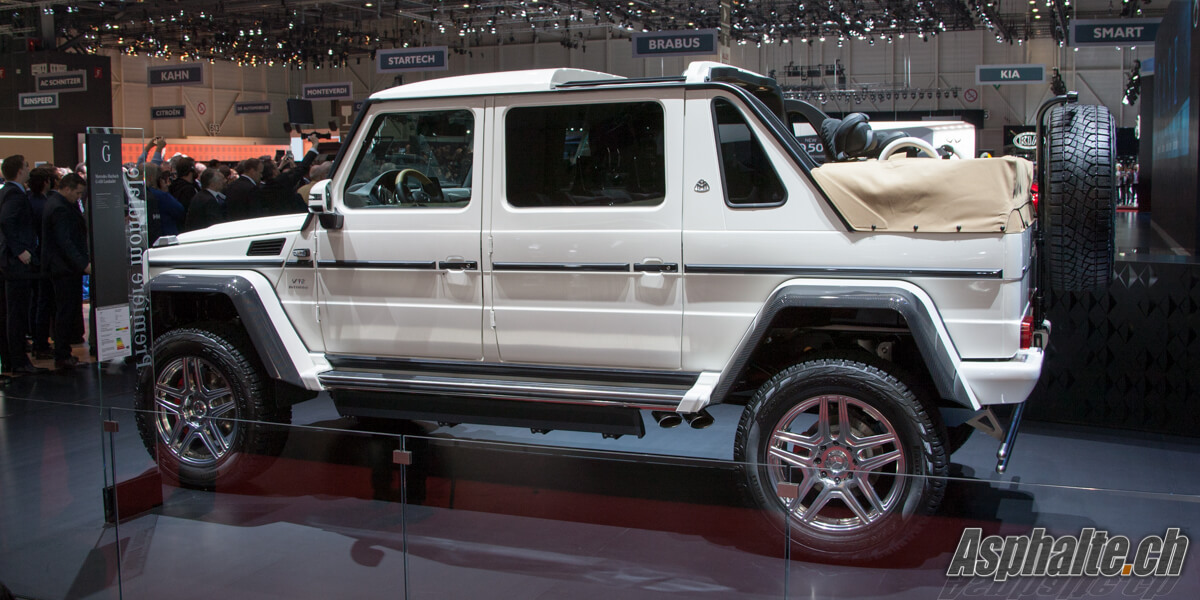 Mercedes Maybach G650 Landaulet