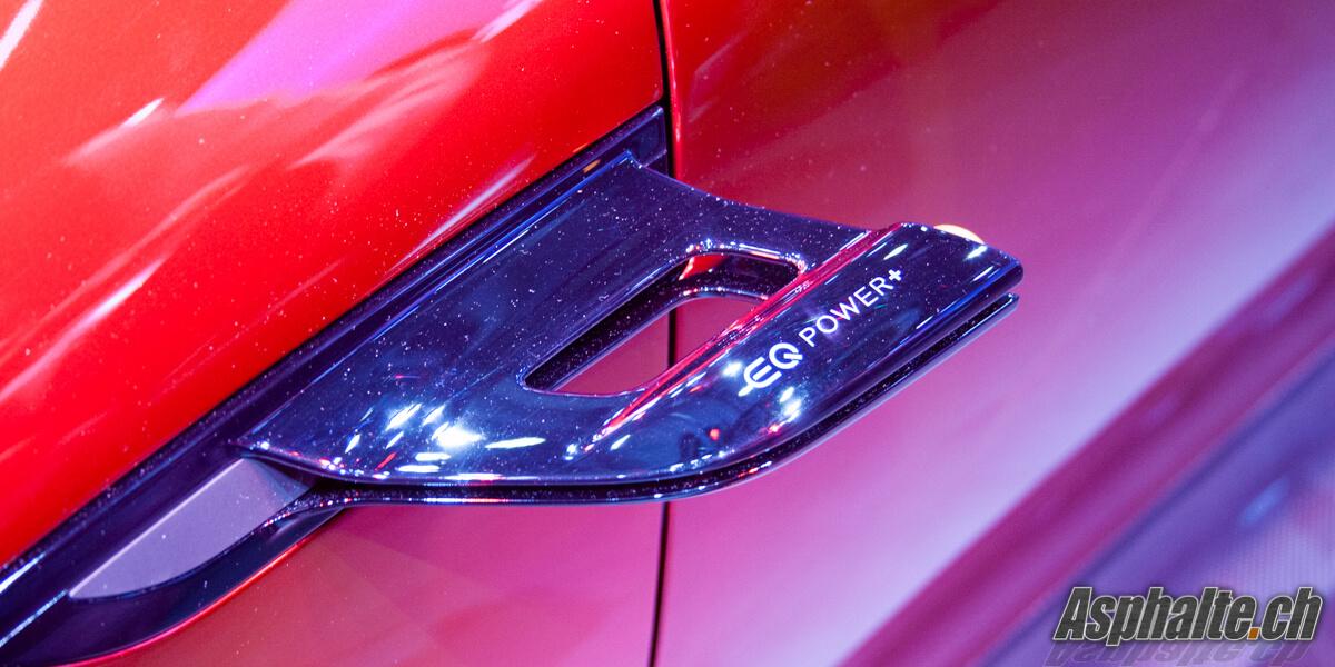 Mercedes-AMG Concept Genève 2017 rétro caméra