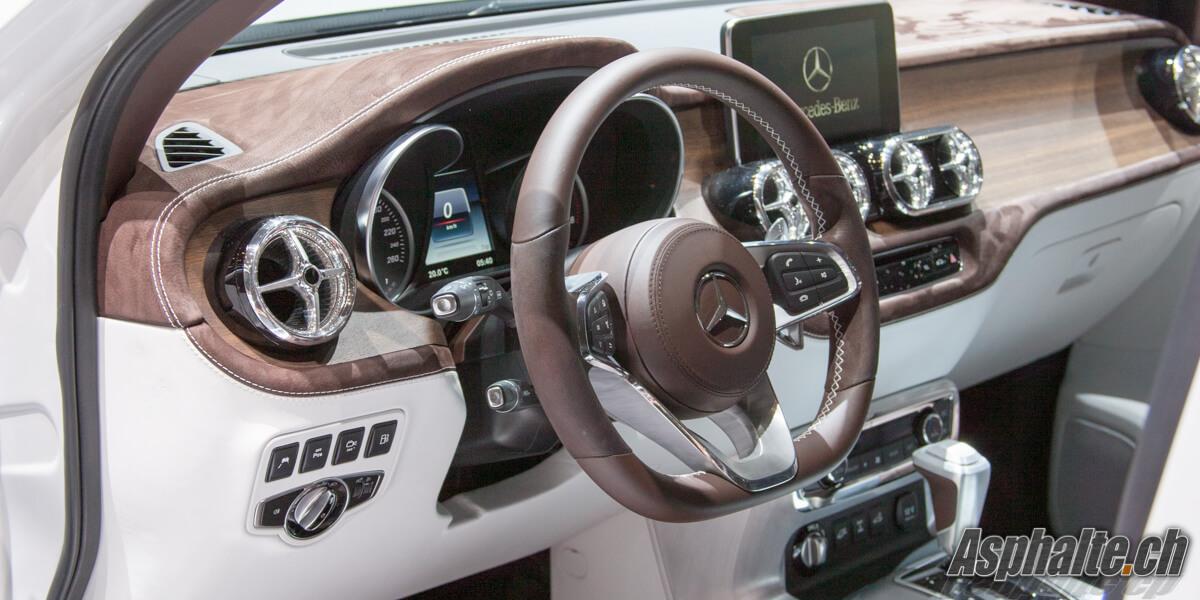 Mercedes-Benz Classe X Concept intérieur