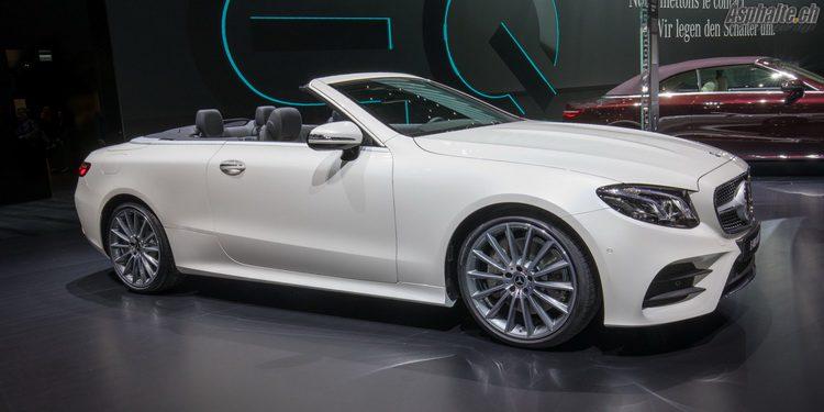 Mercedes Classe-E Cabriolet