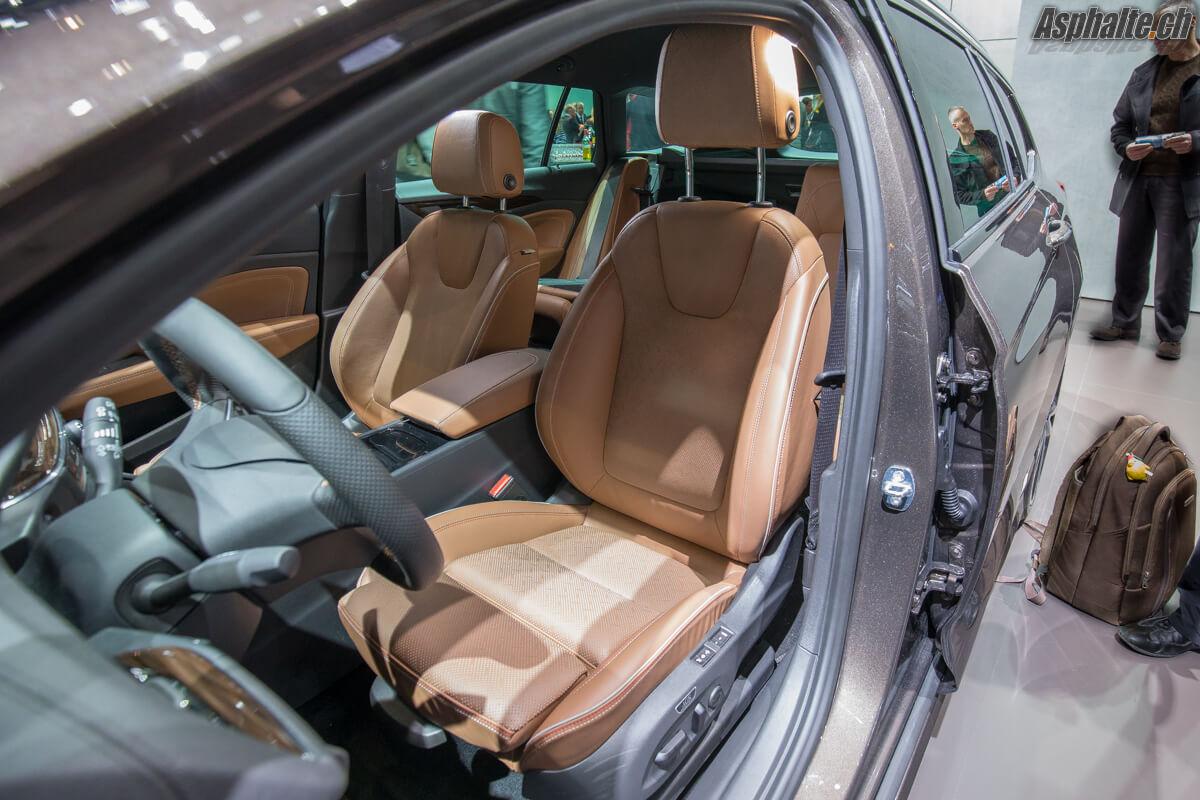 Opel Insignia Sports Tourer 2017 sièges