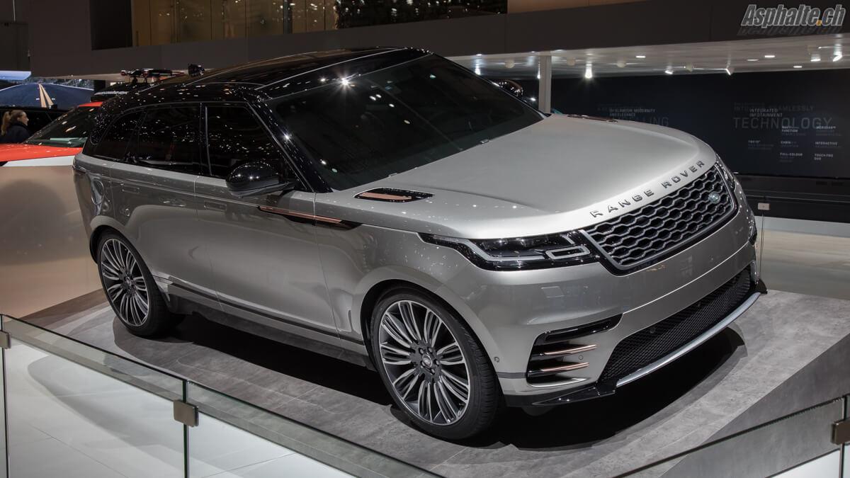 Range Rover Velar Genève 2017