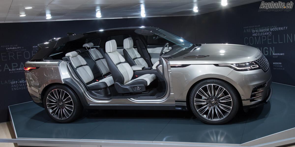 Range Rover Velar écorché