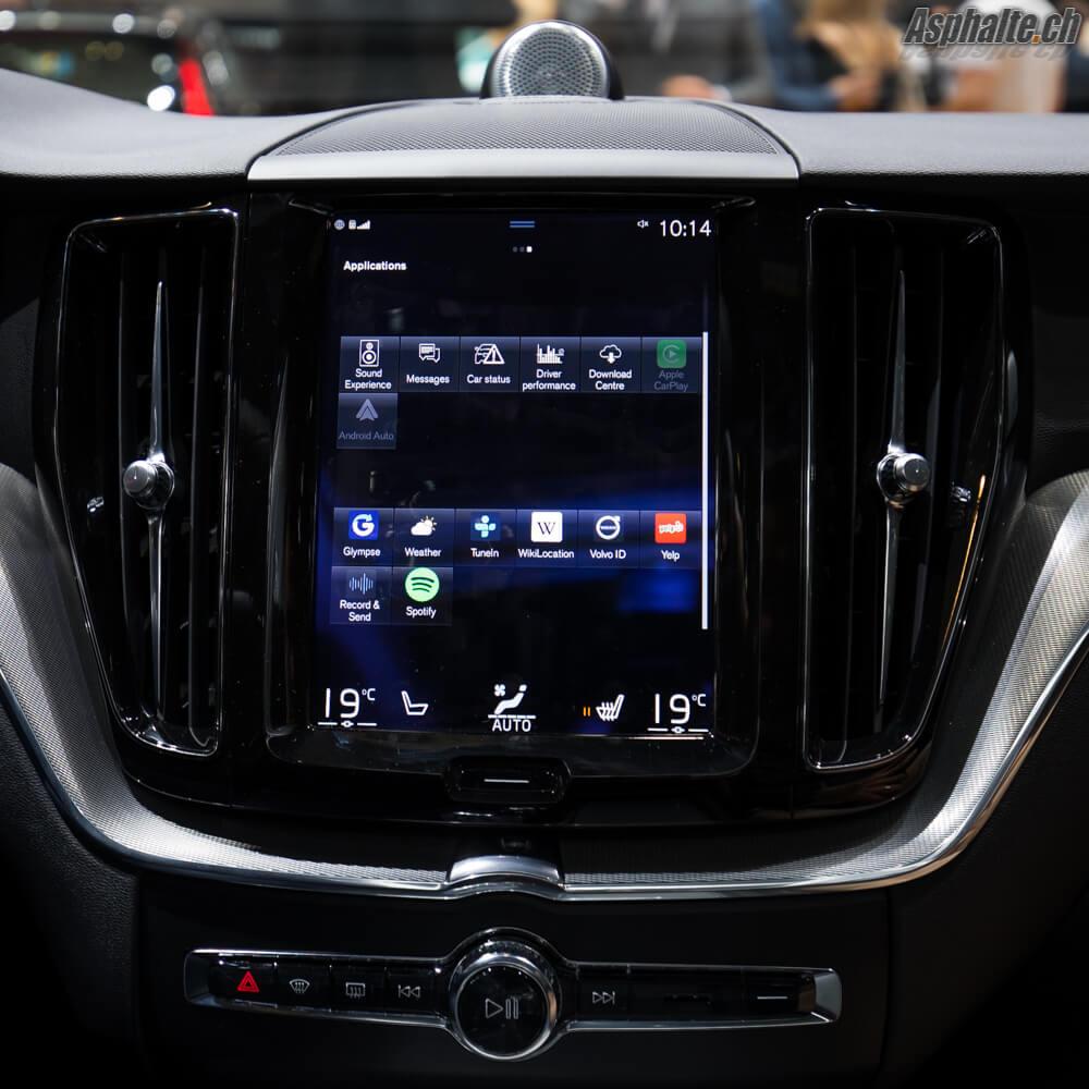 Volvo XC60 multimédia