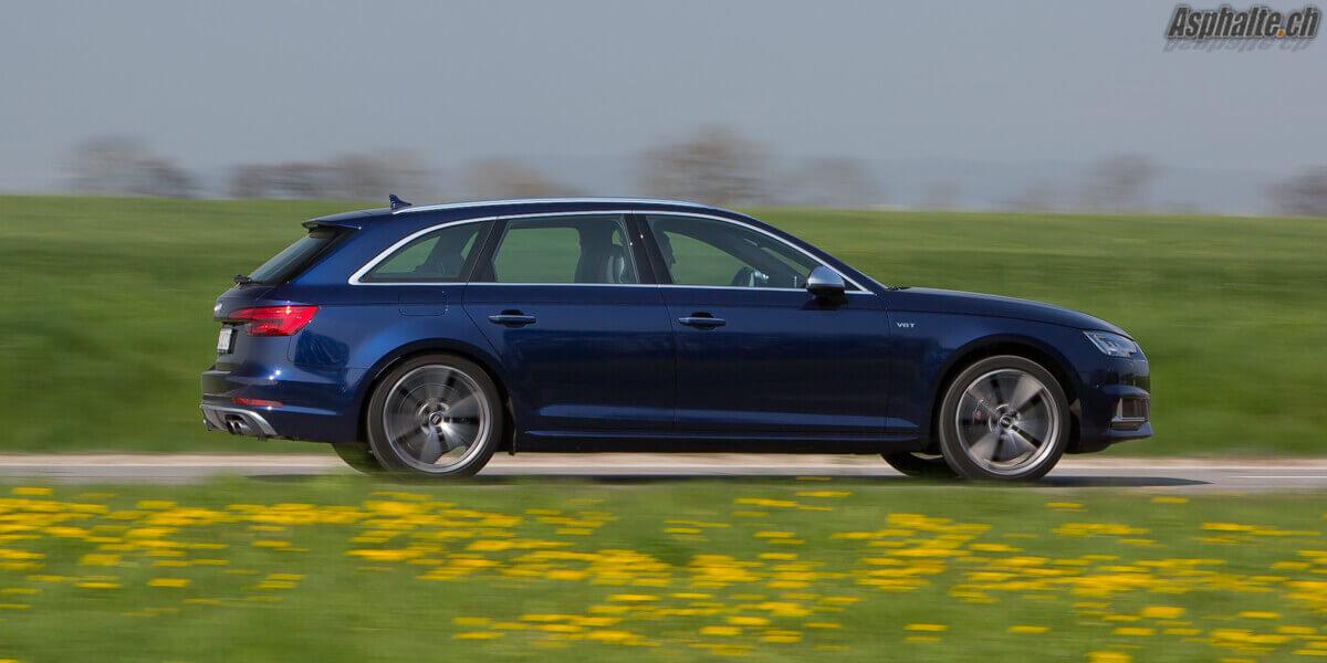 Essai Audi S4 Avant B9 Navarra Blau