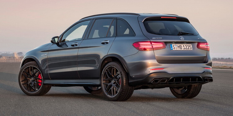Mercedes-AMG GLC 63 S 4MATIC+ selenitgrau metallic