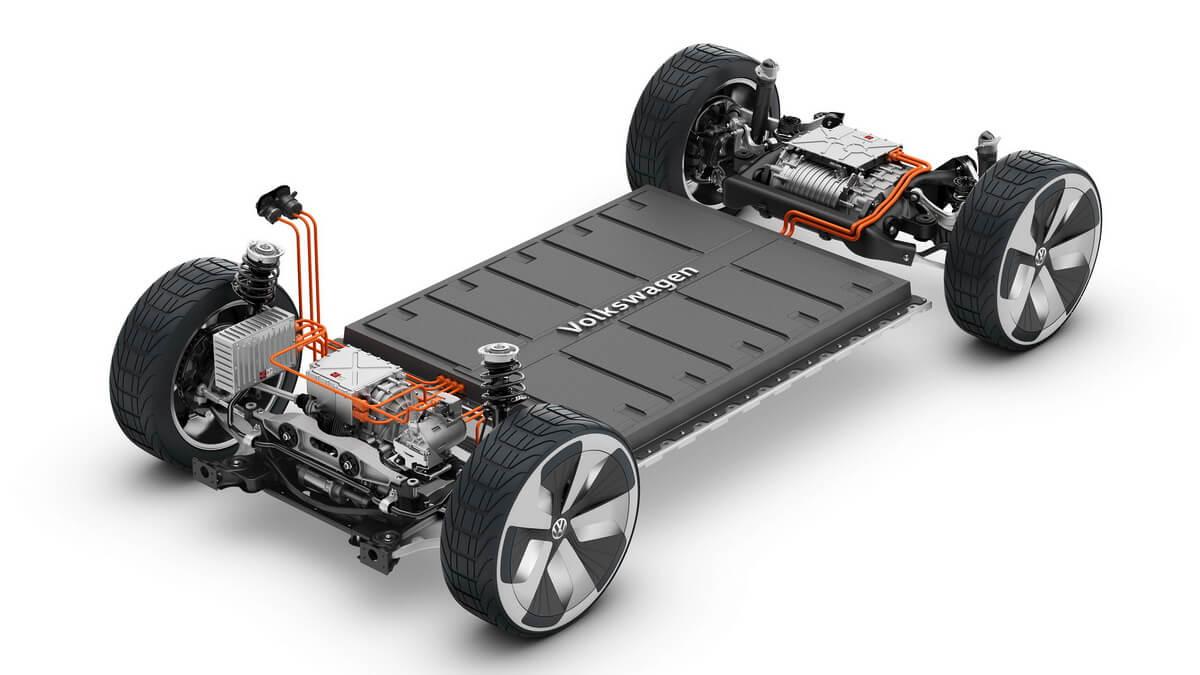 Plateforme MEB VW I.D. Crozz
