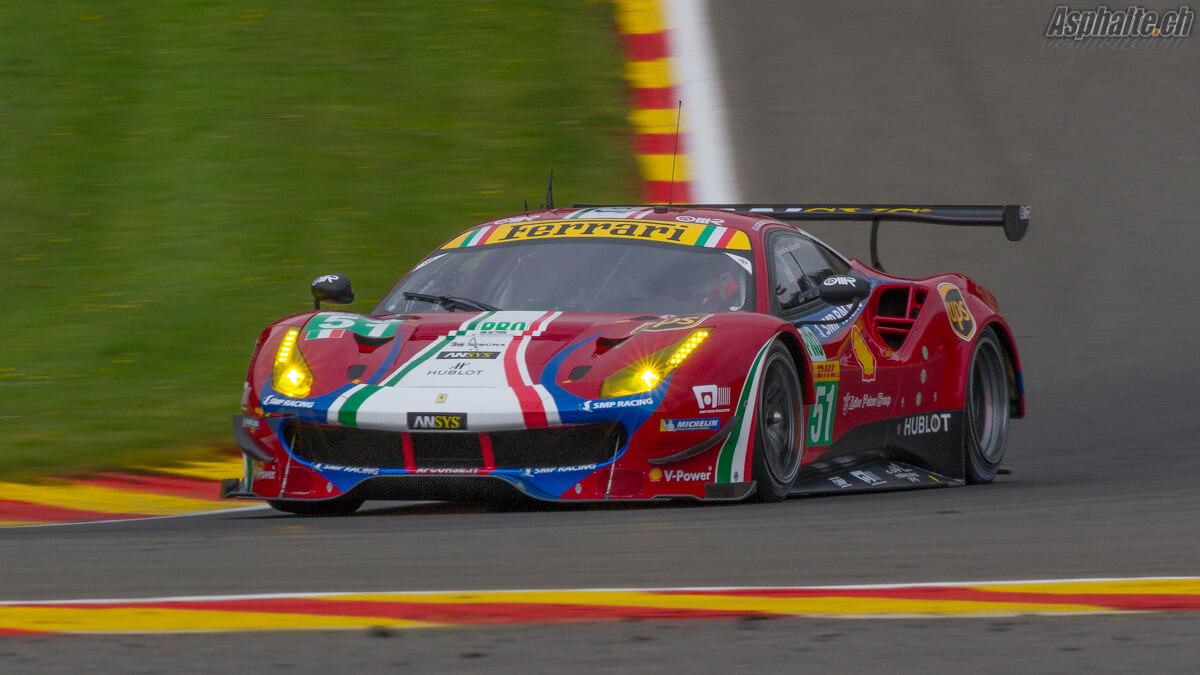 WEC 6 heures Spa 2017 Ferrari 488 GTE