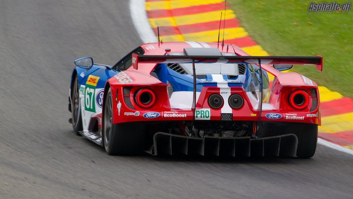WEC Spa 6 heures 2017 Ford GT
