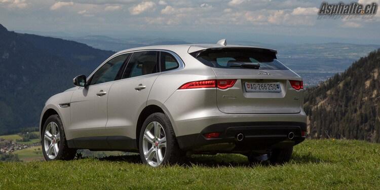 Essai Jaguar F-Pace