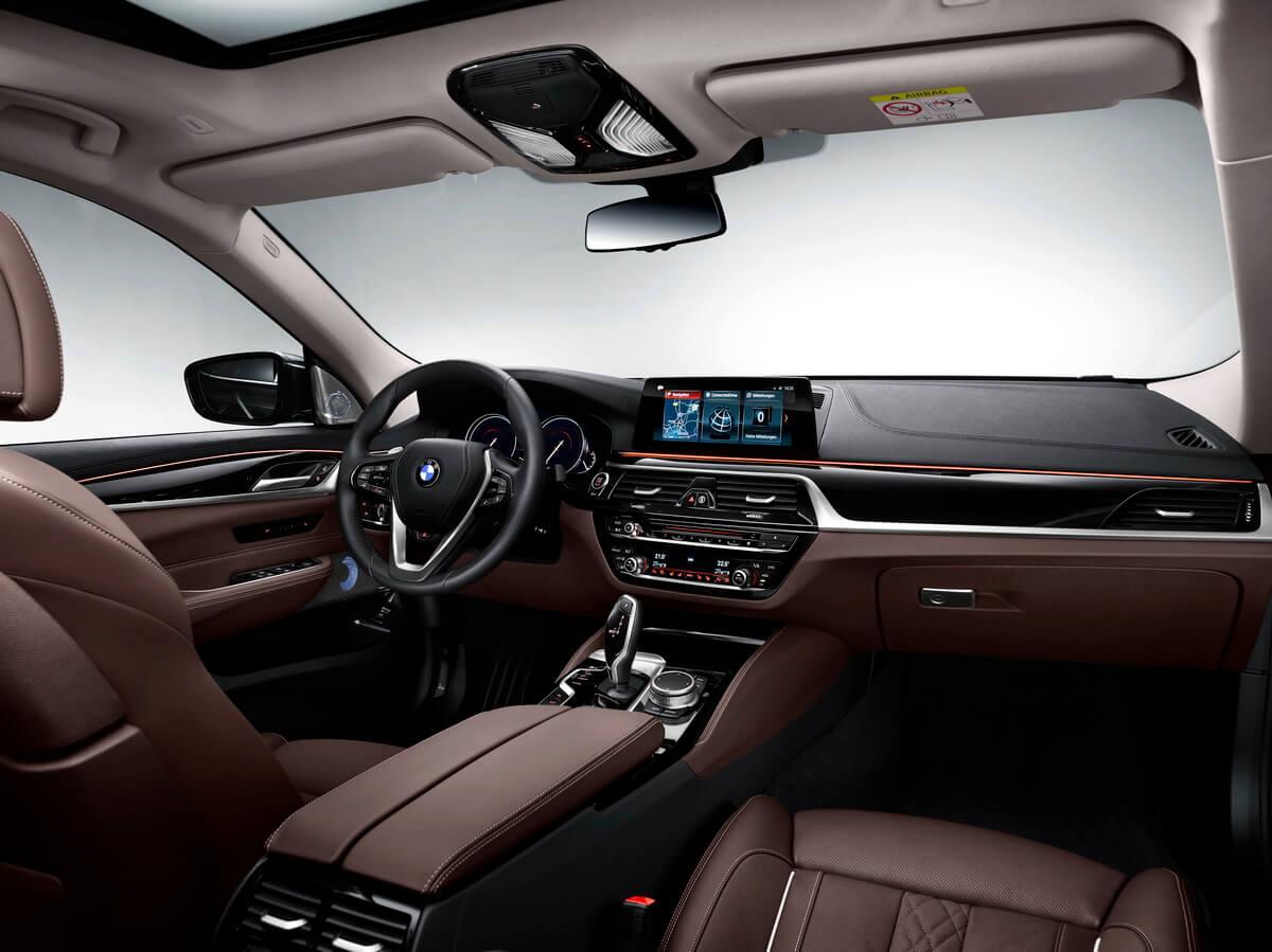 BMW série 6 Gran Turismo intérieur