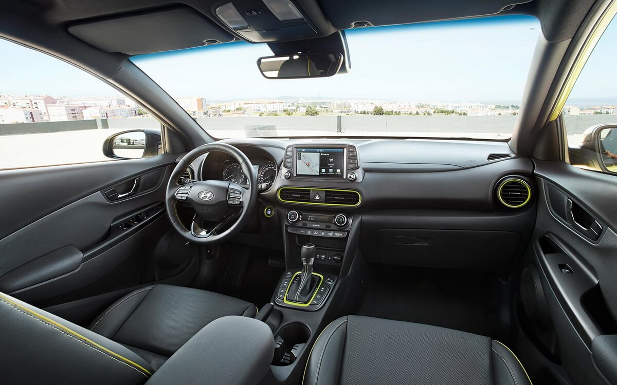 Hyundai kona for Interieur hyundai kona