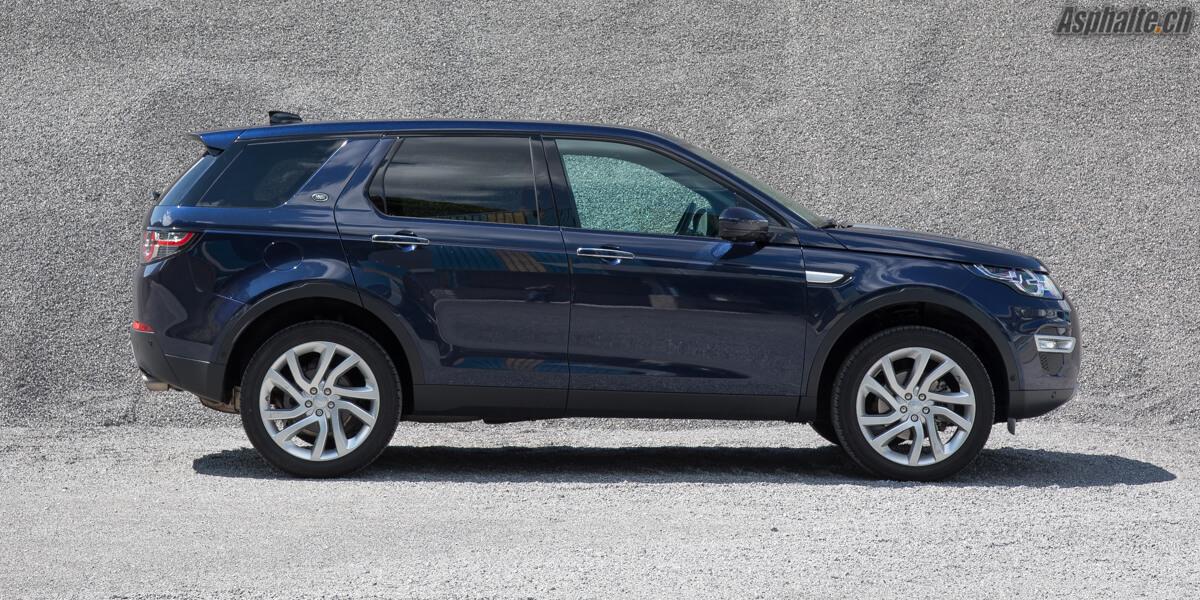 Essai Land Rover Discovery Sport 180ch