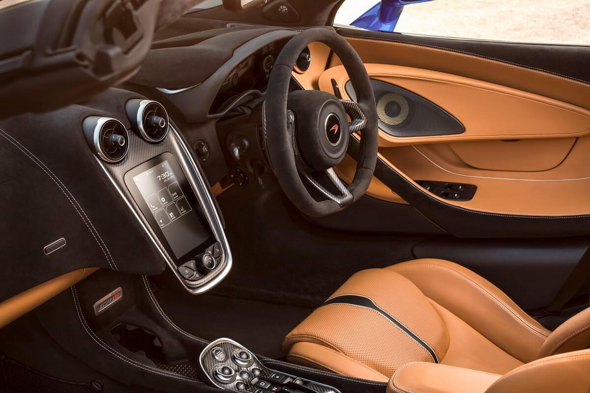 McLaren 570S Spider intérieur