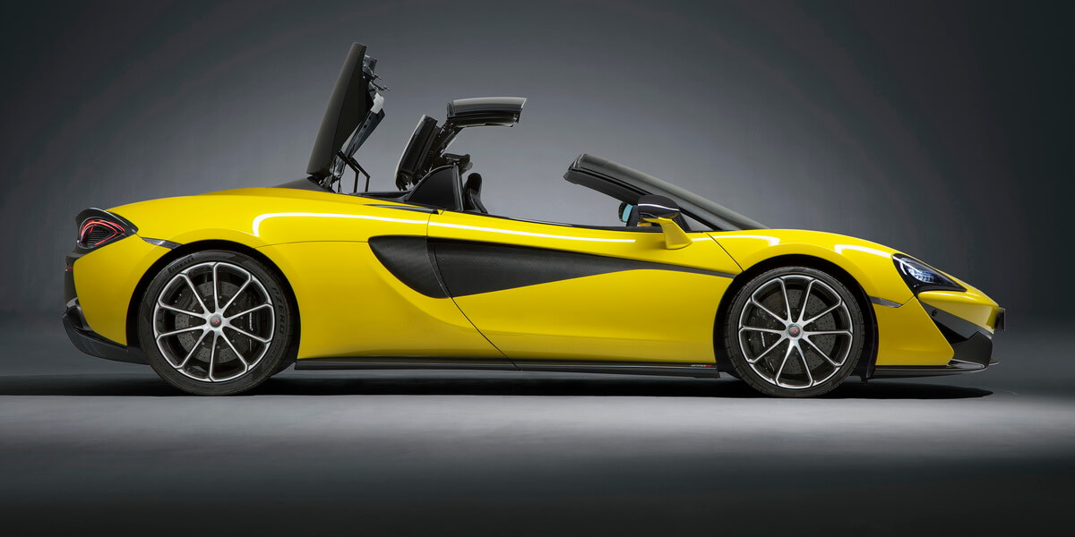 McLaren 570S Spider Sicilian Yellow