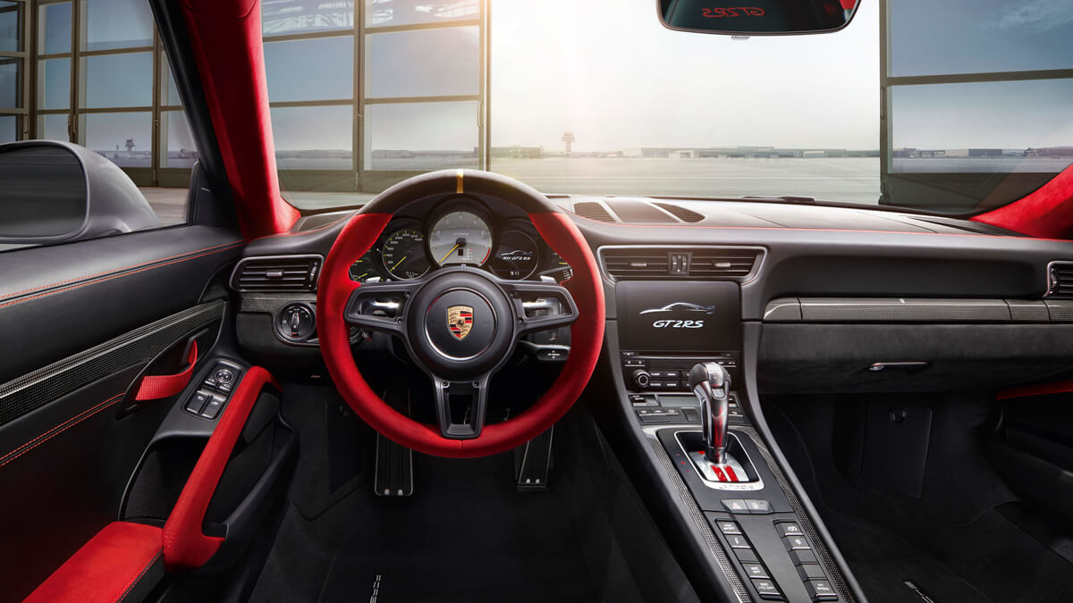 Porsche 991 GT2 RS - Asphalte.ch