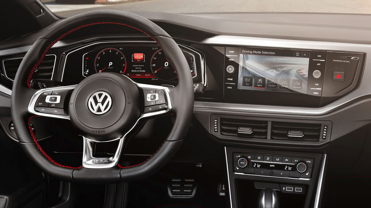 Vw polo polo gti et de six for Interieur nouvelle polo