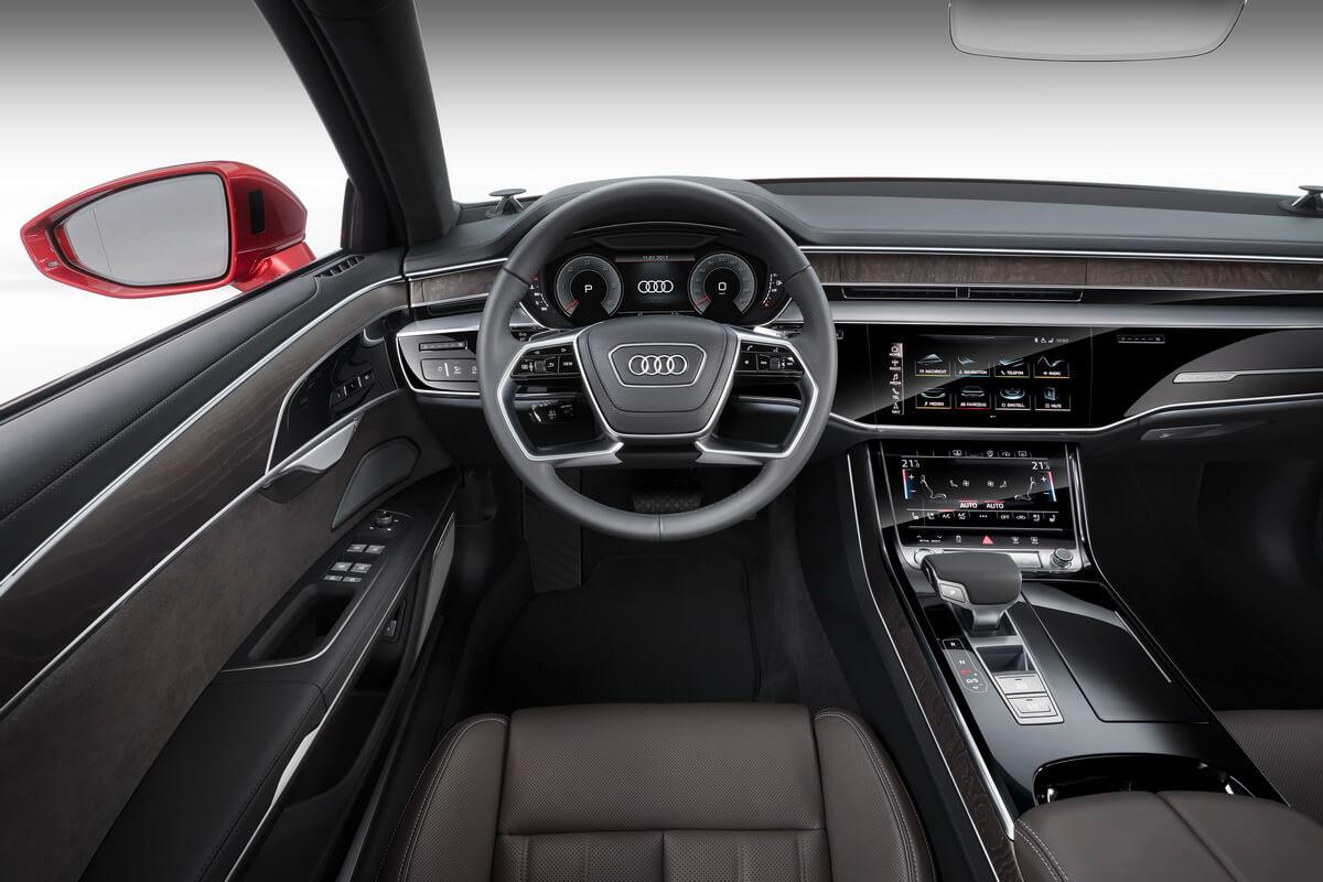 Audi A8 D5 2018 intérieur