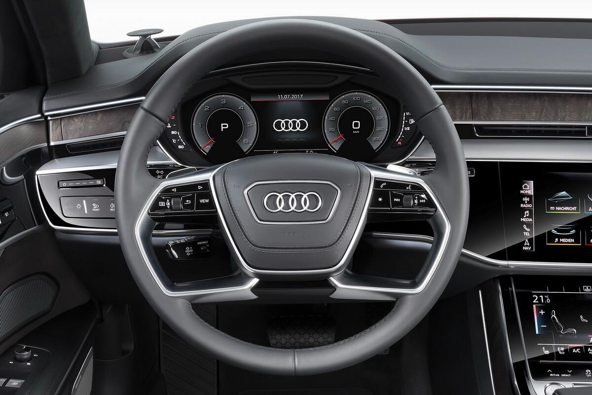 Audi A8 Volant Virual Cockpit