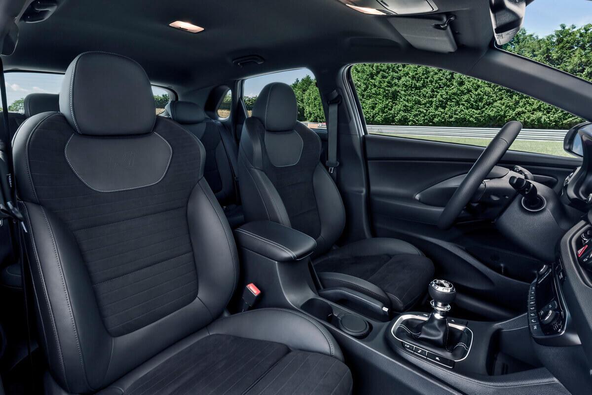 Hyundai i30N sièges