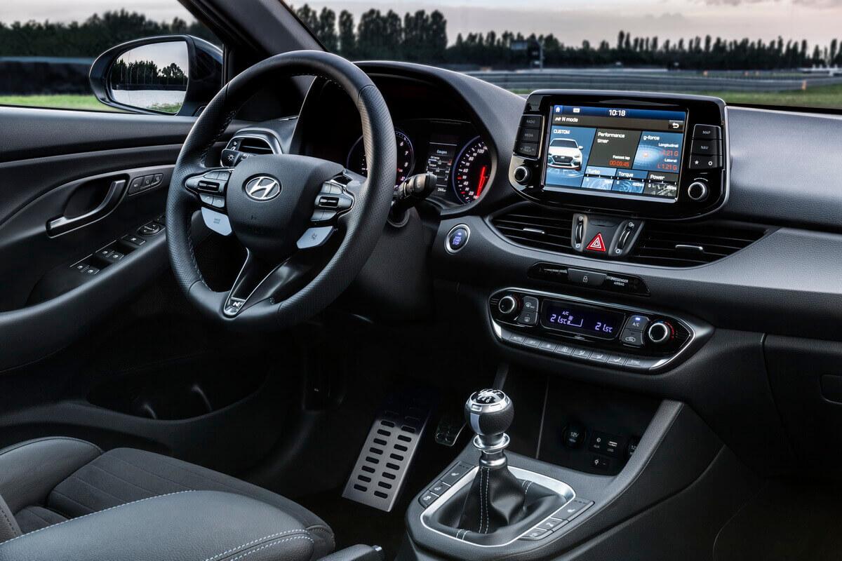 Hyundai i30 N tableau de bord