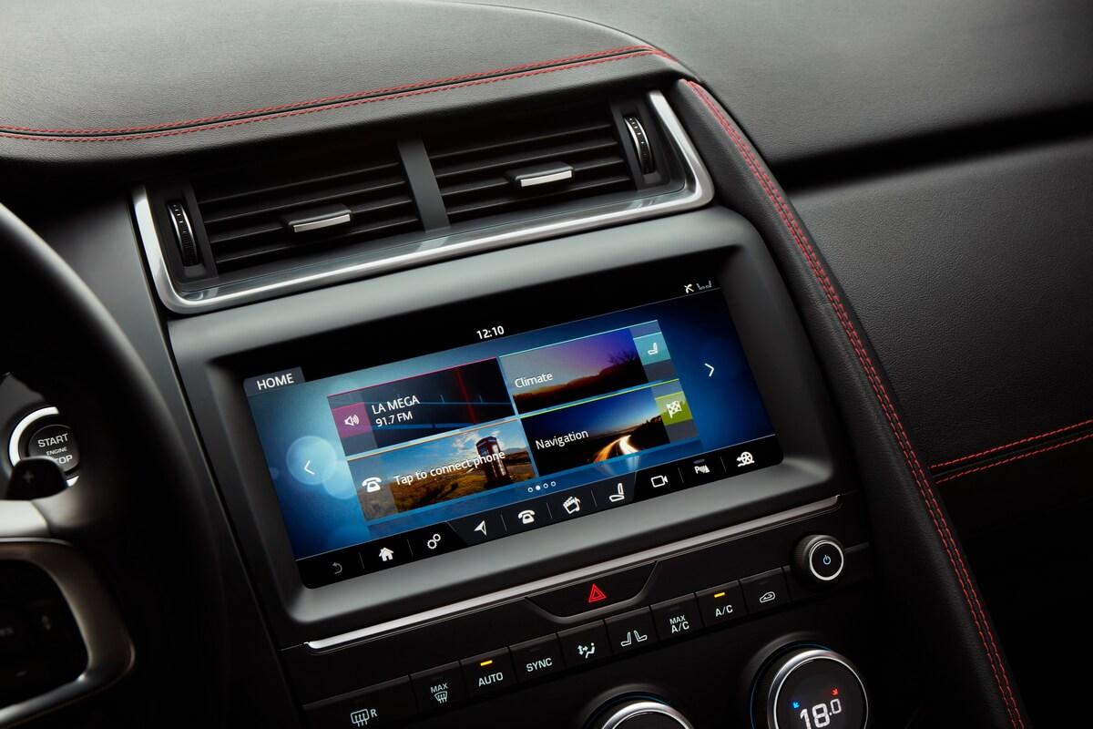 Jaguar E-Pace multimedia