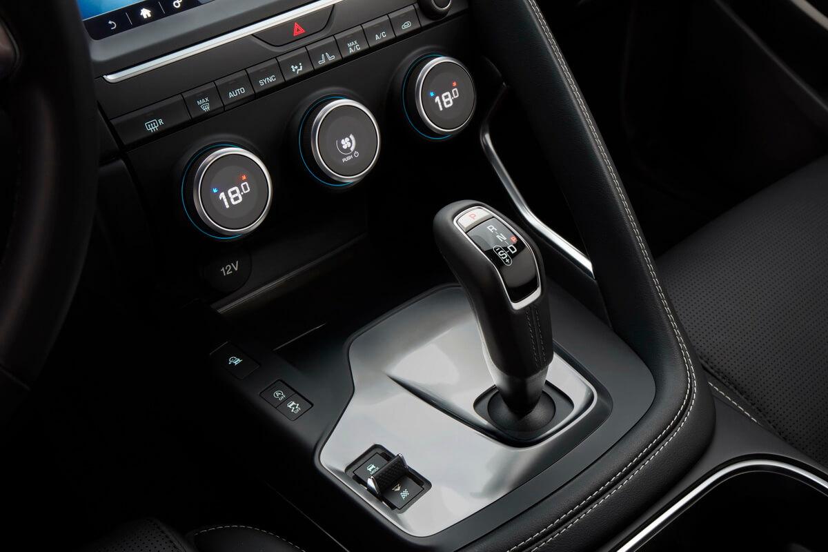 Jaguar E-Pace sélecteur boîte vitesse