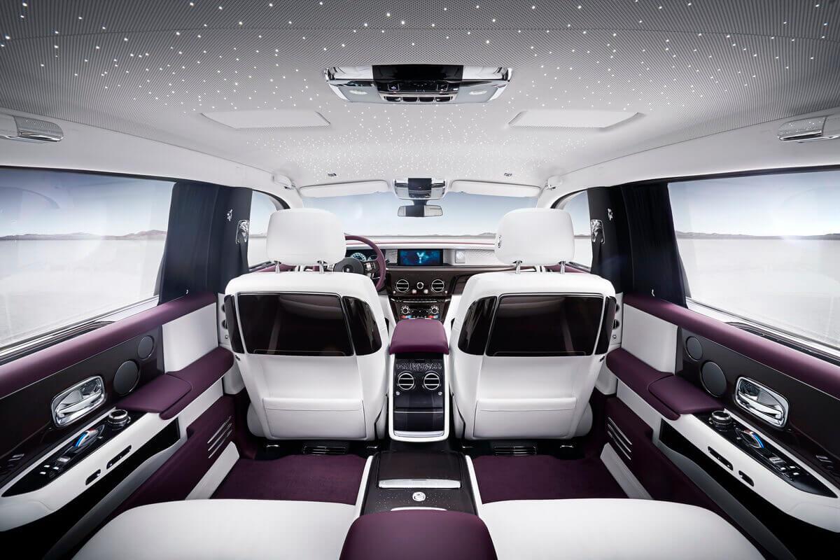 Rolls Royce Phantom VIII EWB intérieur