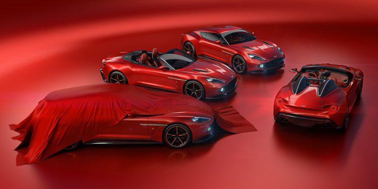 Famille Aston Martin Vanquish Zagato