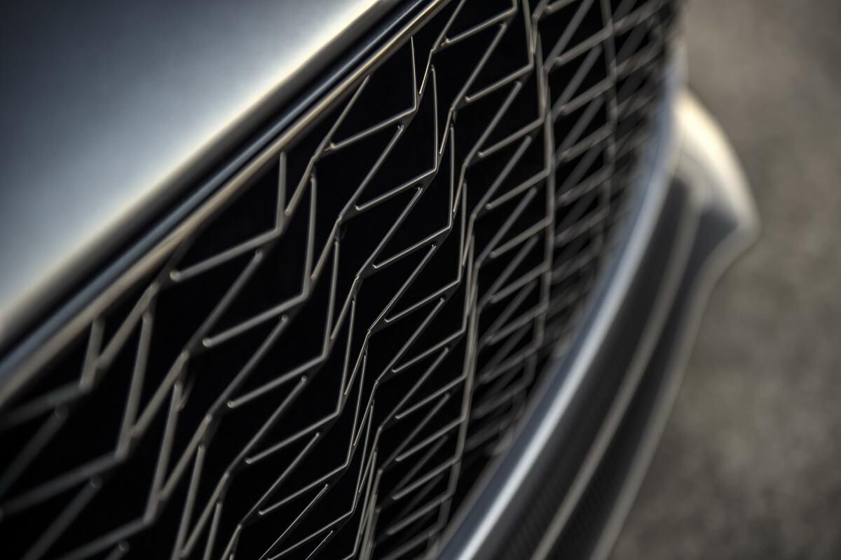 Aston Martin Vanquish Zagato Volante grille