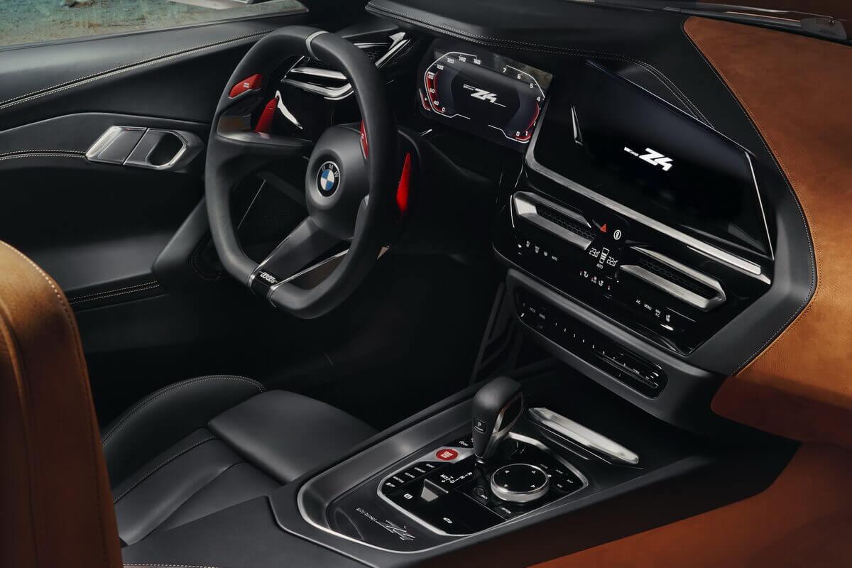 BMW Concept Z4 Cockpit