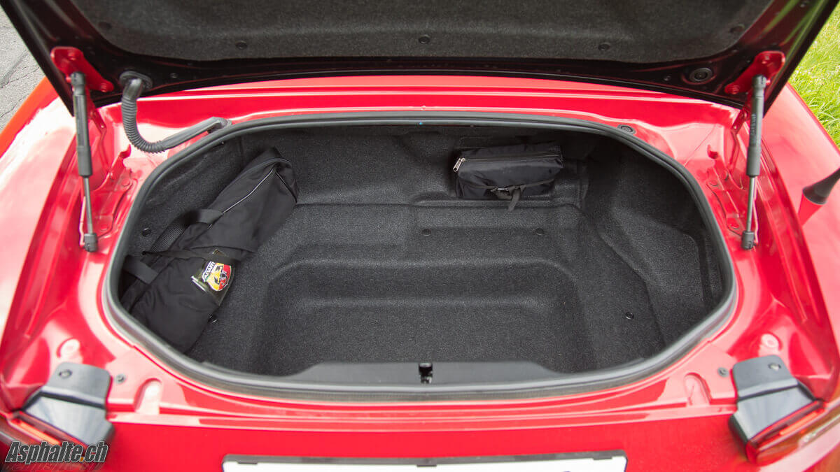 Fiat 500 Sport >> Essai Abarth 124 Spider: avantage Italie - Asphalte.ch