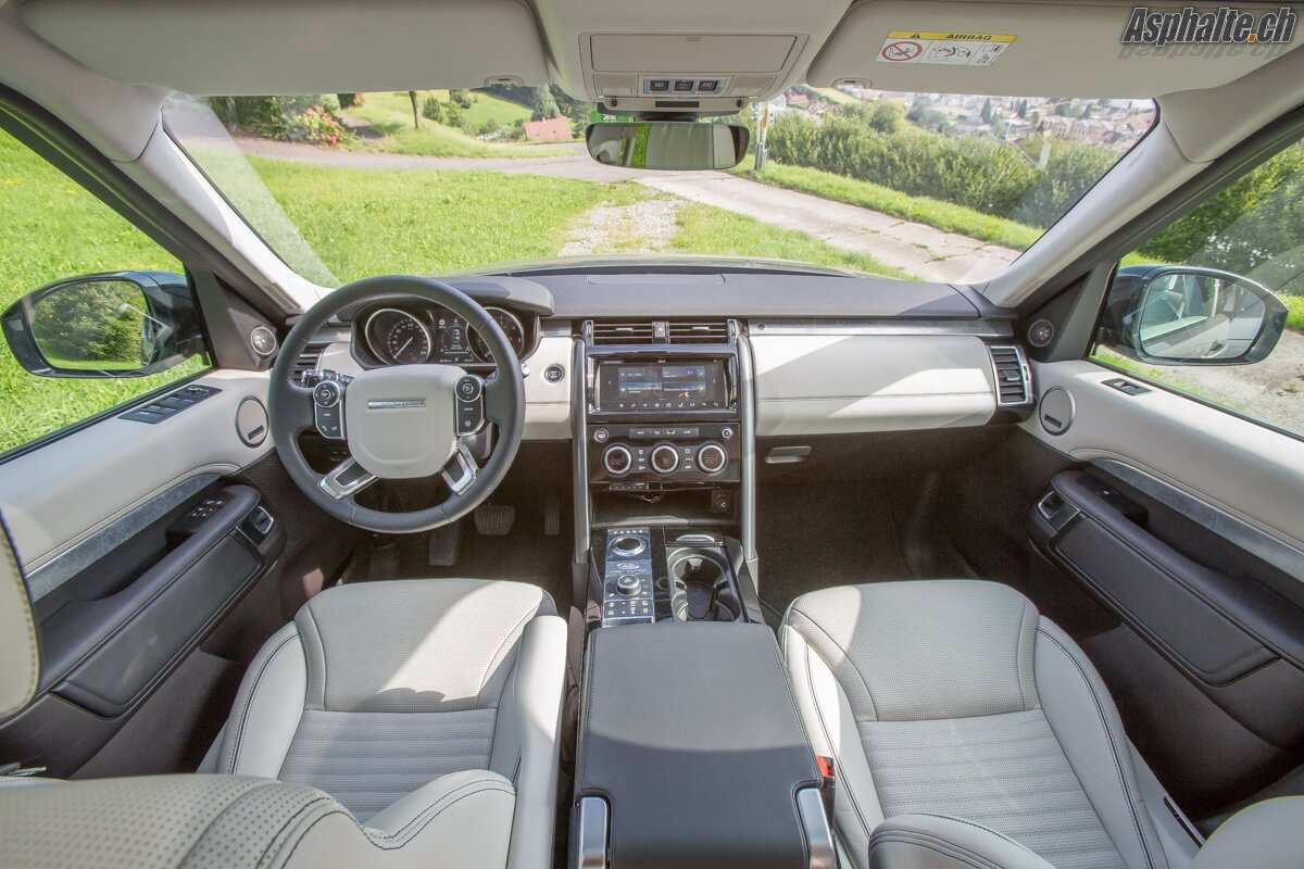Essai Land Rover Discovery HSE Luxury