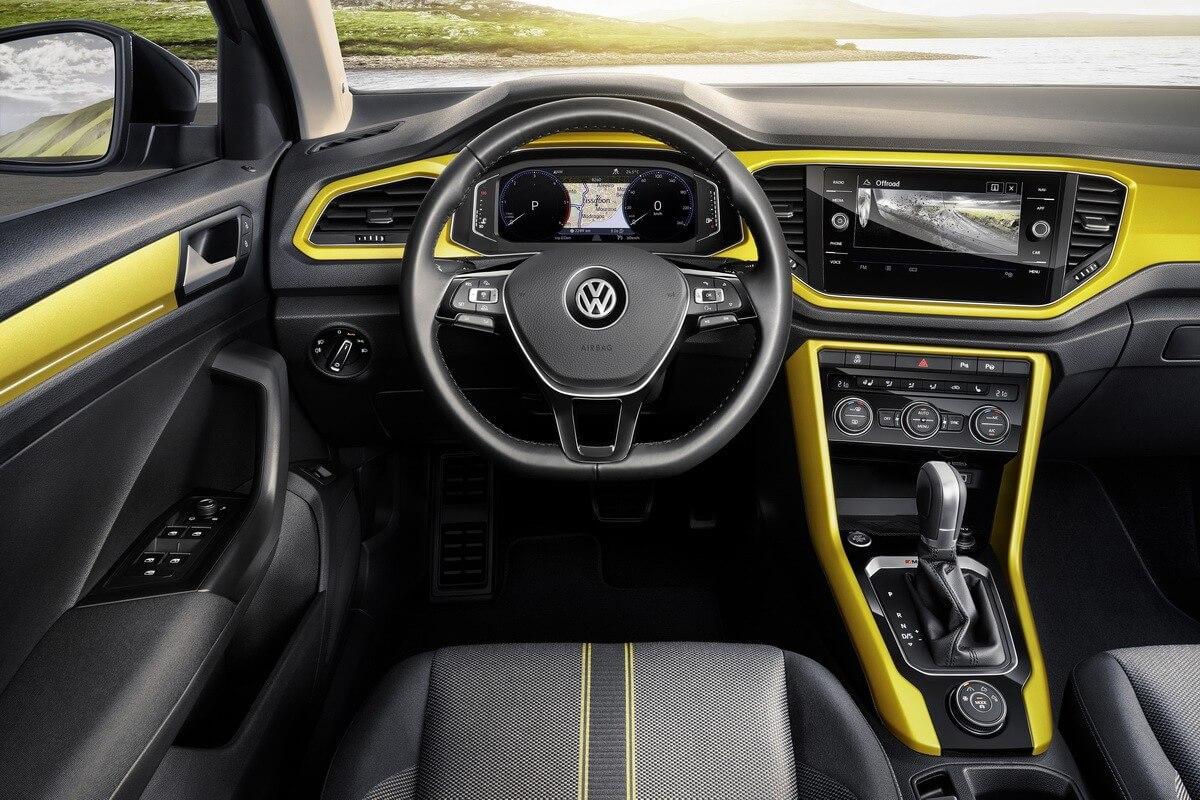 VW T-Roc intérieur