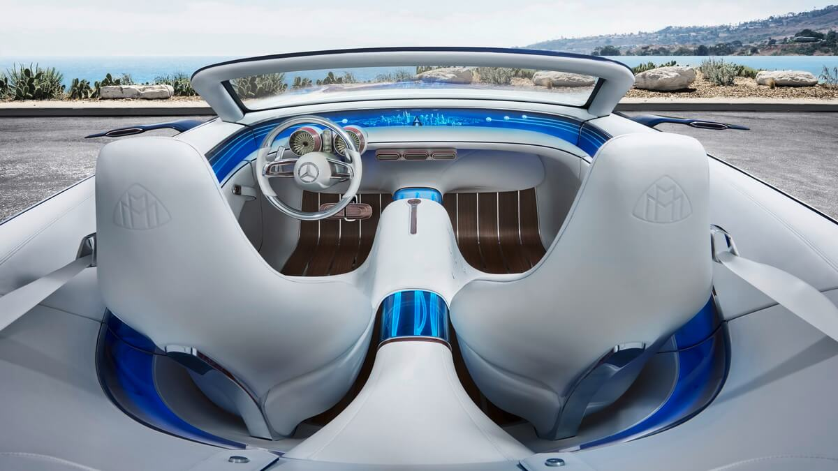 Vision Mercedes-Maybach 6 Cabriolet intérieur