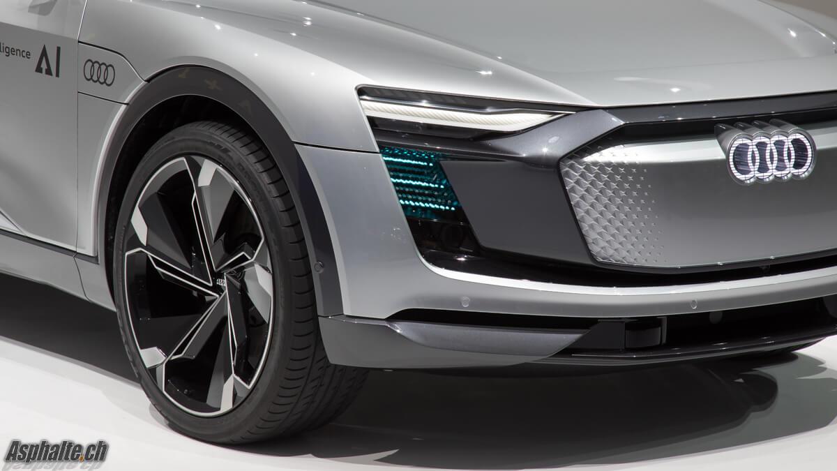 Audi Elain e-tron Sportback Concept IAA 2017