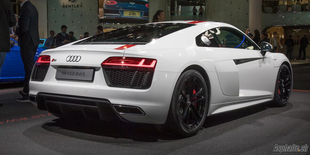 Audi R8 RWS