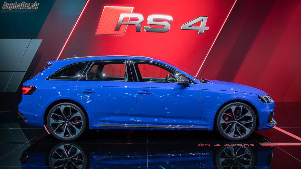 Francfort 2017 Audi Rs4 Avant B9 Asphalte Ch