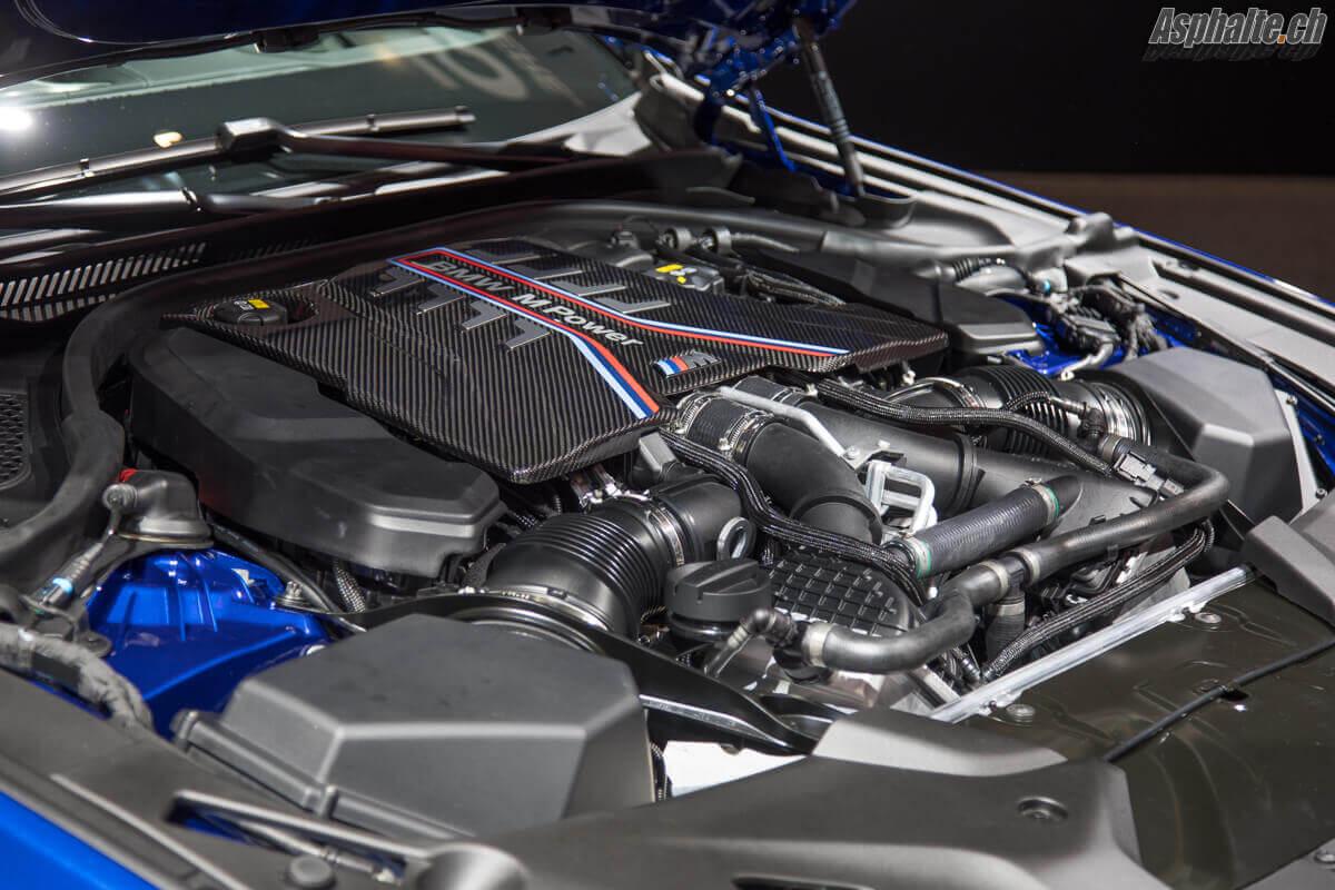 BMW M5 F90 moteur V8 biturbo