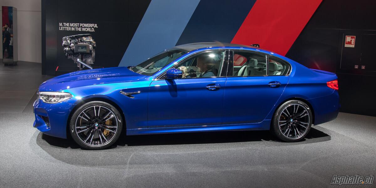 BMW M5 F90 Bleu